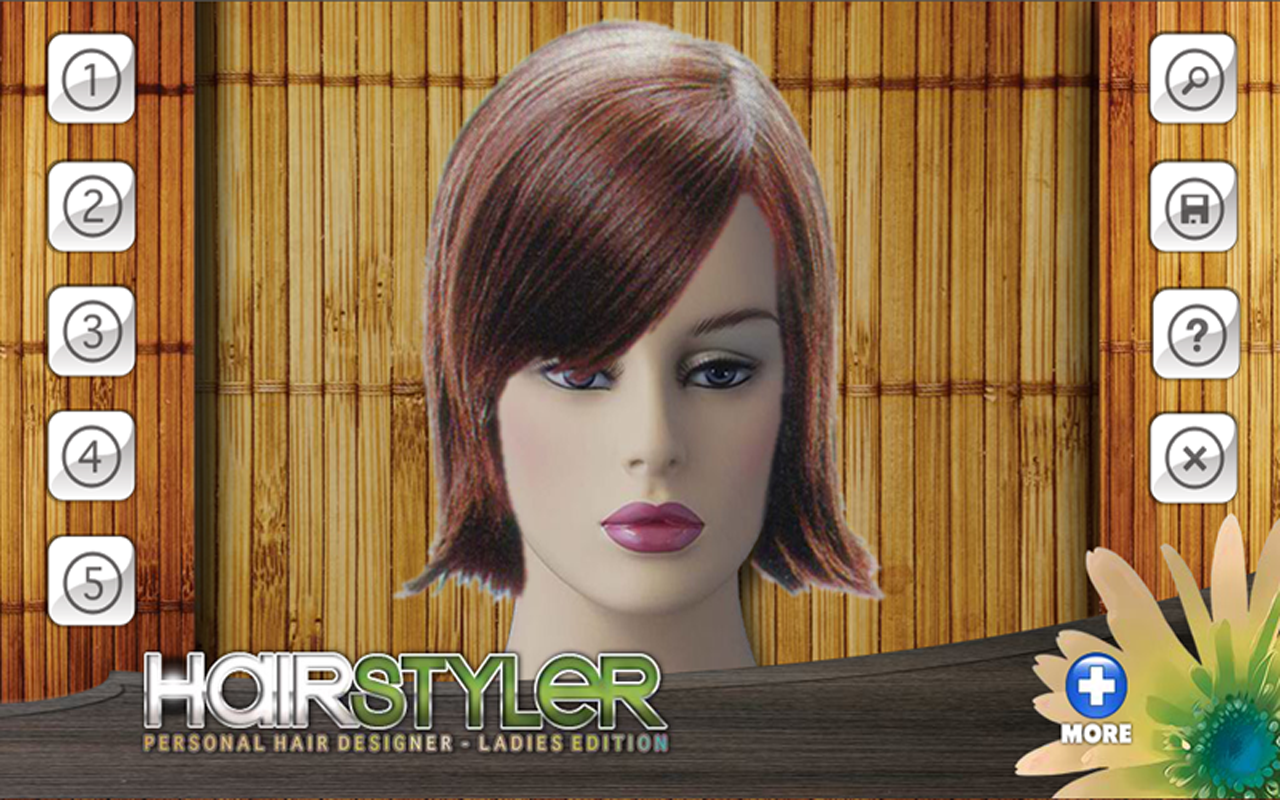 Admirable Free Virtual Hair Styler Style Android Apps On Google Play Short Hairstyles Gunalazisus