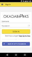 Screenshot of Okadabooks: Free Books To Read