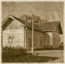 Photo: Stacja kolejowa w Rogoźniku Podhalańskim.