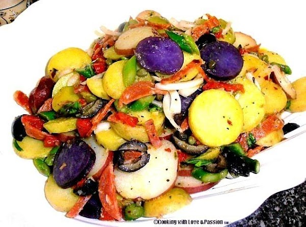 Lymon Lyme Konfetti Potato Salad Recipe