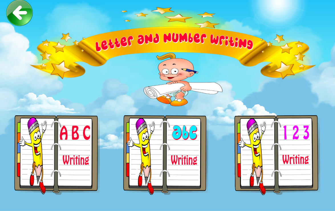 Kids Learn ABC 123 Writing Screenshot