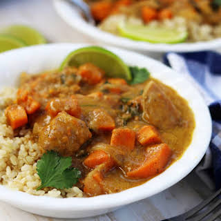 Chicken Sweet Potato Curry.