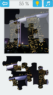 Jigsaw Puzzle VIP: Night View - náhled
