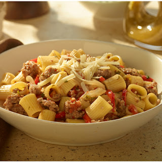 Sausage And Peppers With Rigatoni