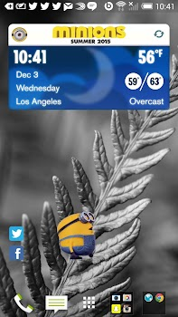 Minions Weather Widget