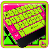 Fluorescent Flashy Neon Keyboard Theme