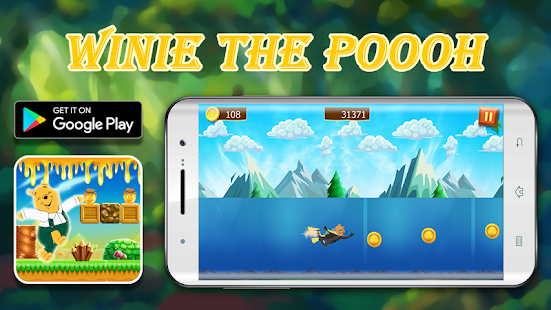 Winie honey eater : jungle & adventure & pooh game - náhled