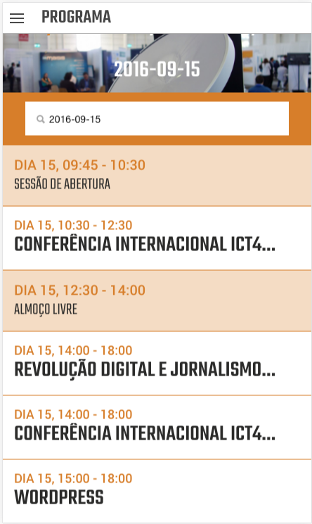 techdays 2016 (oficial)- screenshot
