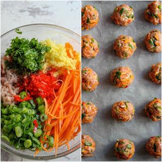 Paleo Thai Meatballs