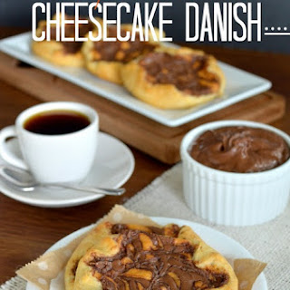 Pumpkin Nutella Cheesecake Danish