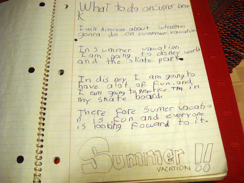 essay on summer vacation for class in urdu