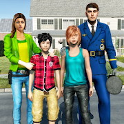 Virtual Police Dad Simulator : Happy Family Games APK baixar