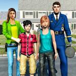 Virtual Police Dad Simulator : Happy Family Games 1.0.18