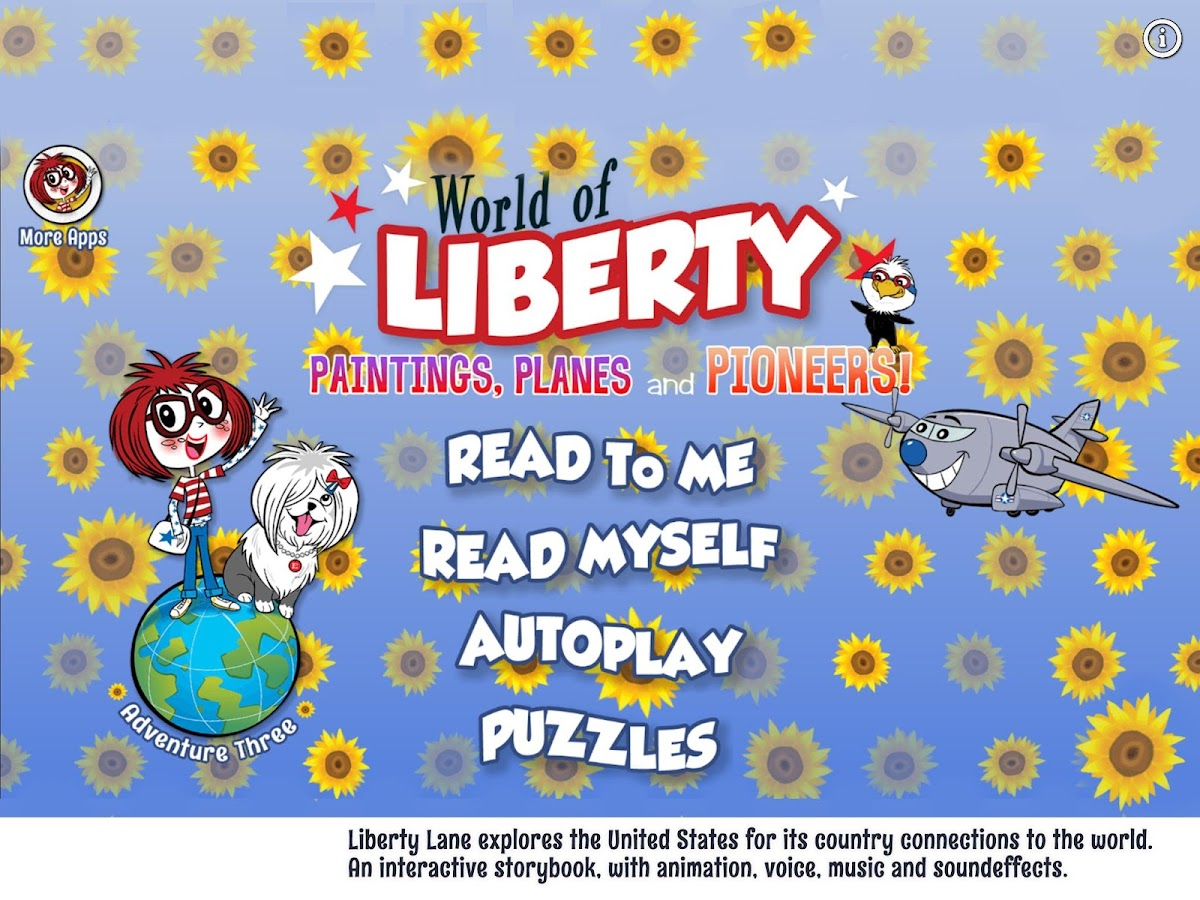 World of Liberty, Adventure 3- screenshot