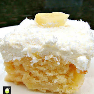 Pineapple and Coconut Cake.