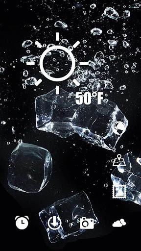玩免費個人化APP|下載黑色空间冰块主题 app不用錢|硬是要APP