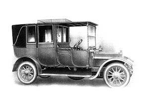 Photo: 1911 Wolseley Limousine Landaulette. Fitted to 16/20 and 20/28