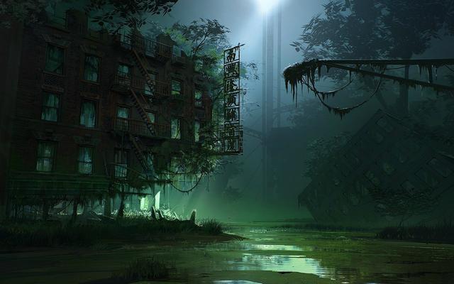 Anime Desktop Wallpaper Swamp