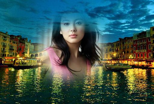 Venice Night Photo Effects