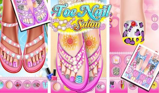 Toe nail salon android apps on google play toe nail salon screenshot thumbnail prinsesfo Images