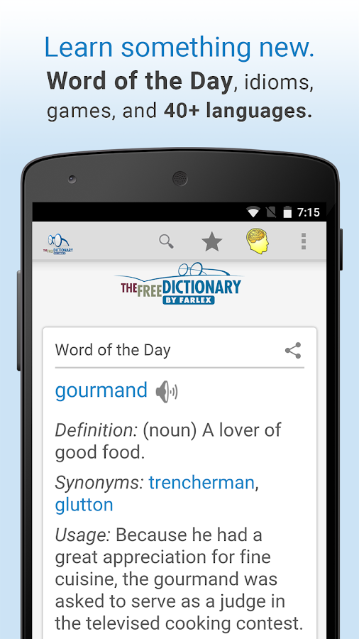Dictionary- screenshot