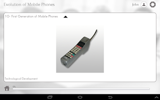 Screenshot of Mobile Phone 101