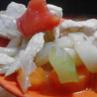 Turkey Noodle Soup.