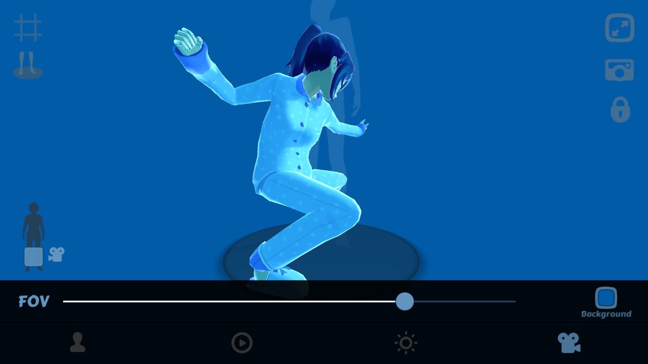 Gmail themes anime - Anime Girl Pose 3d Screenshot