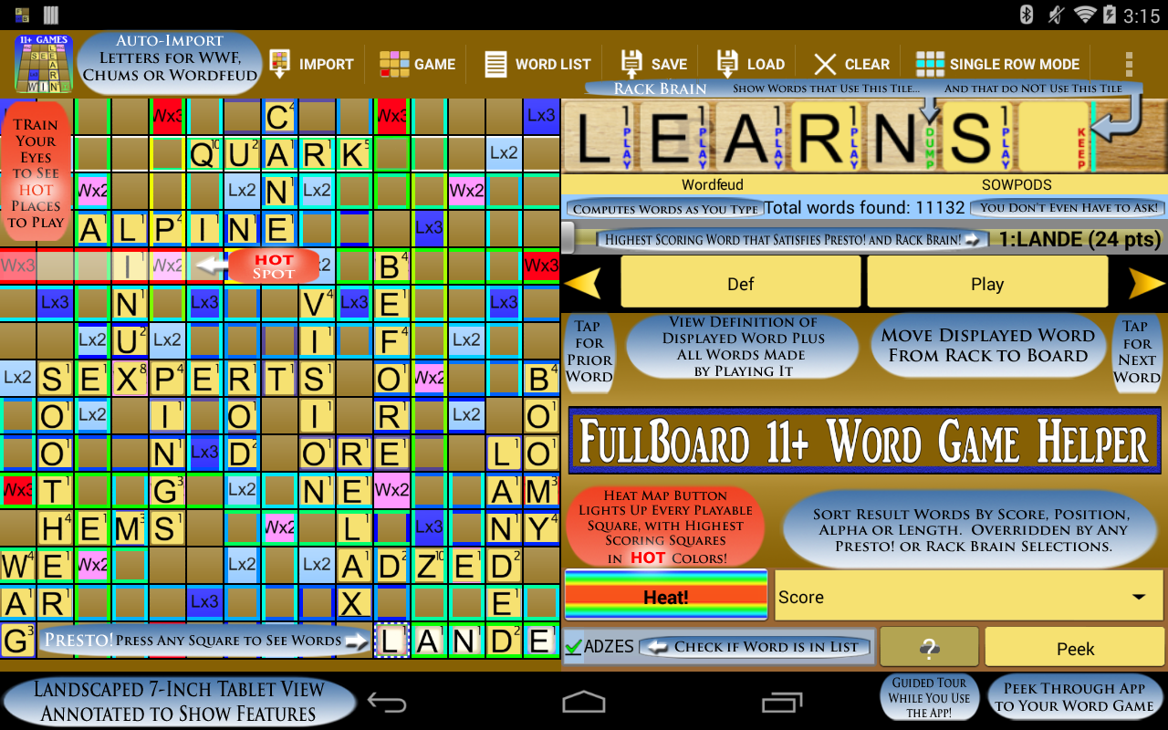 Words Helper 4 Friends + 10 FREE TRIAL- screenshot