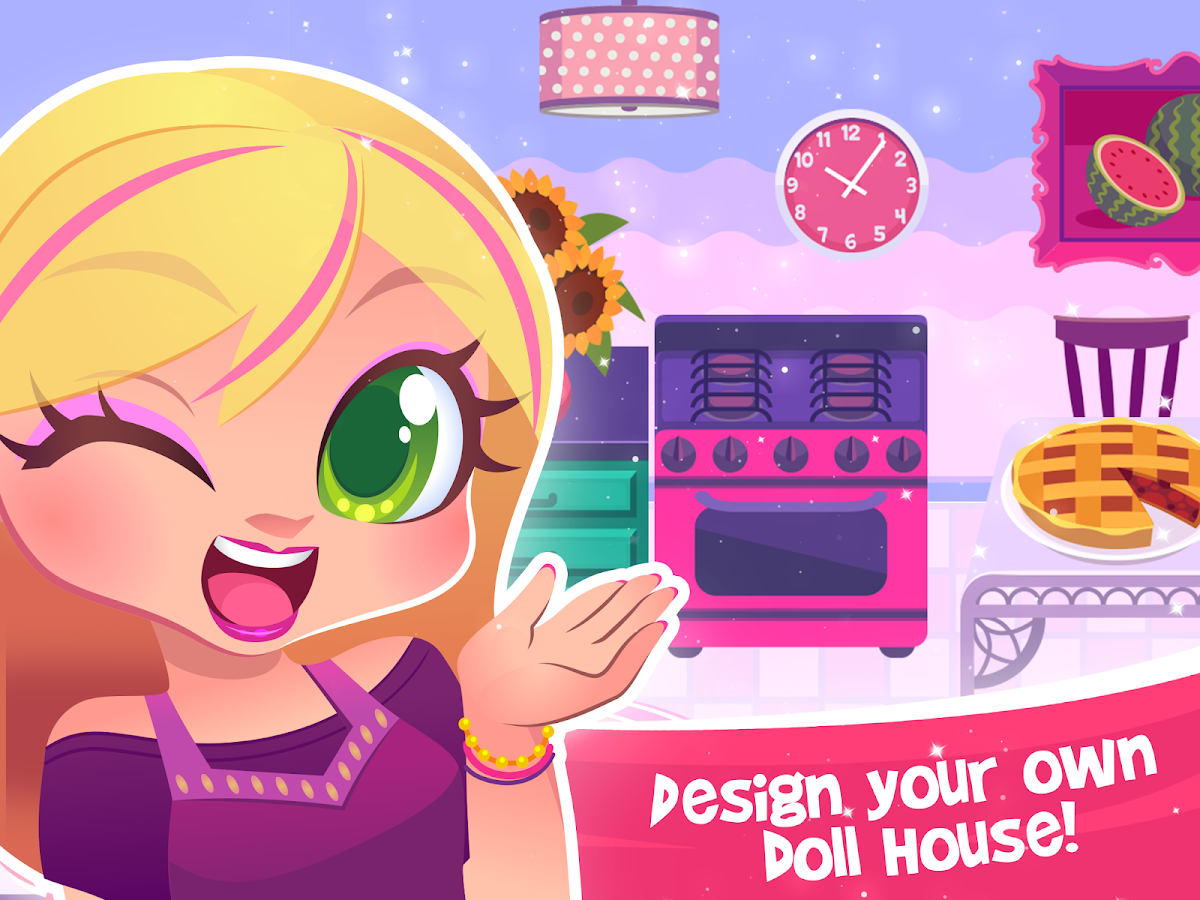My Doll House - Make and Decorate Your Dream Home - Android Apps ...