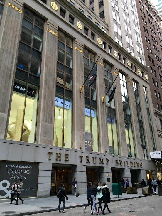 The Trump Building at 40 Wall St.