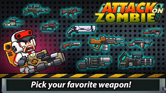 Zombie Battleground : Player Attack on Zombie - náhled