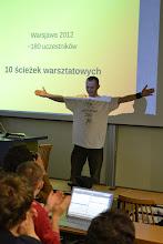 Photo: Bartek w finale swojego koszulkowego pokazu: http://blog.bartekzdanowski.pl/2012/10/udana-warsjawa-v-100-spotkanie-wjug.html