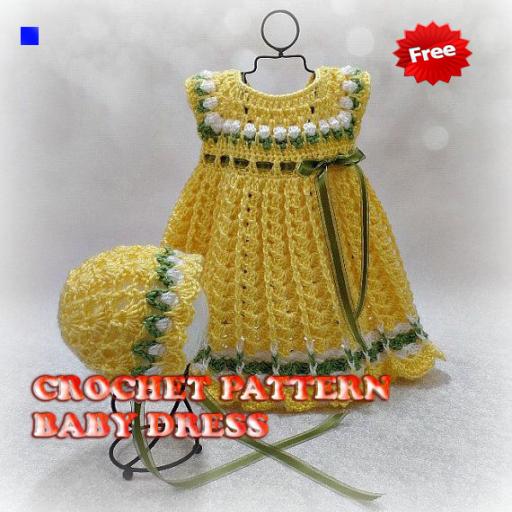 Crochet Pattern Baby Dress