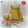 Crochet Pattern Baby Dress