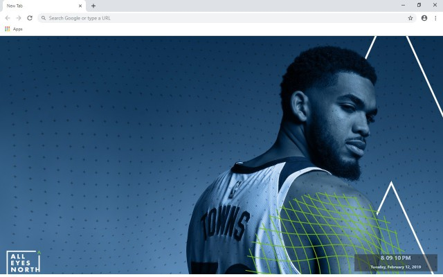 Karl-Anthony Towns New Tab