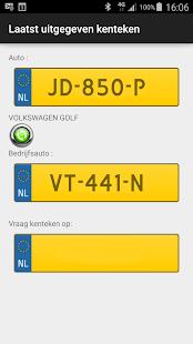Dutch licenseplate - náhled
