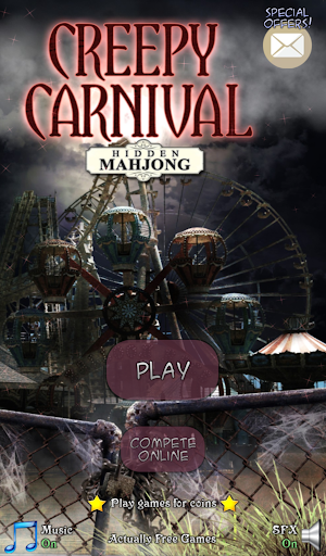 Hidden Mahjong Creepy Carnival