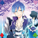 Handsome boy's Playing Cards icon
