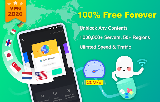 NetCapsule VPN   Free VPN Proxy, Fast VPN, Unblock screenshot 1