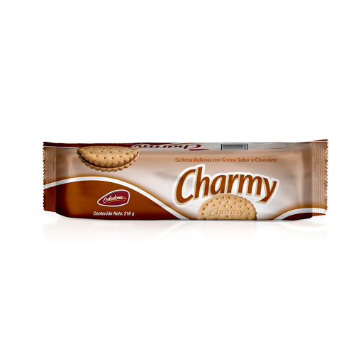 galletas charmy chocolate 216gr