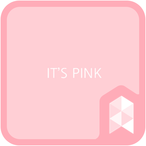 It's Pink Launcher theme (app)
