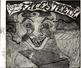 Photo: 12th proof of an etching plate I was working on in 1991