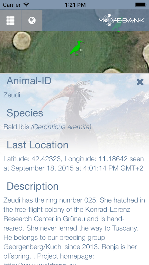 Animal Tracker- screenshot