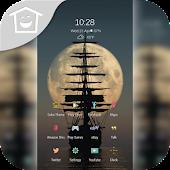 Full Moon Sea Ghost Ship Theme