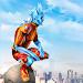 Snow Storm Superhero icon