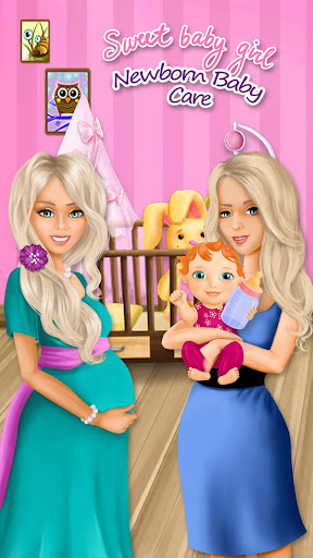 Sweet Baby Girl - Newborn Baby