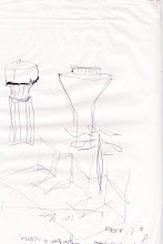 Photo: Watertower Pen on A4 paper 2001