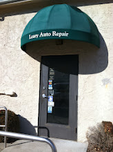 Photo: Leary Auto Repair in Bedford, MA proudly displaying their BBB Accreditation