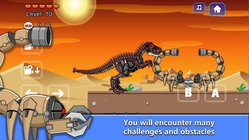 T-Rex Dinosaur Fossils Robot Age  {cheat|hack|gameplay|apk mod|resources generator} 2